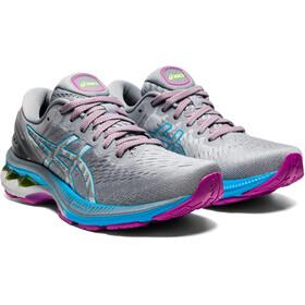 asics Gel-Kayano 27 Shoes Women, azul/gris